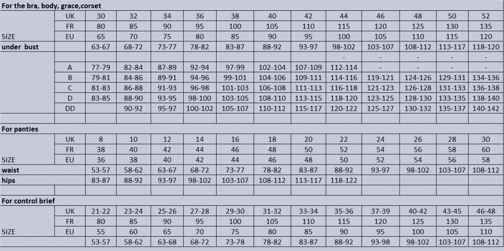 jll-size-chart